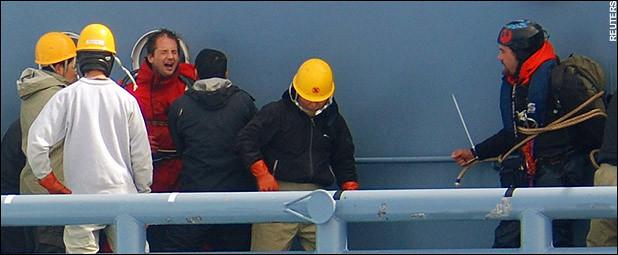 Kinship Circle - 2008-01-15 - ACT NOW To Free Captured Sea Shepherd Crew Members by smiteme