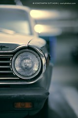 F1.2 (Konstantin Sutyagin) Tags: old car vintage garage retro dodge headlight canon85mm12l