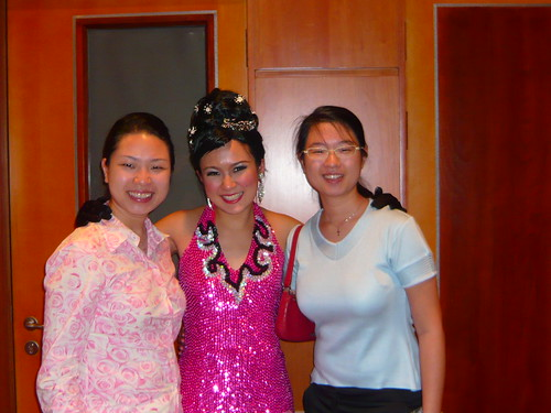 Me, Elena (the star) and Vicki