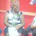 Nigeria's acting duo Aki & Pawpaw being interviewed by Uganda's WBS TV Late Show's presenter Straka Mwezi