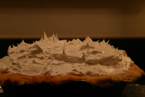 Lots of meringue