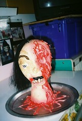 hungry? (front yard disply) Tags: halloween make crafts creepy help homemade heads how create sell ideas discussions