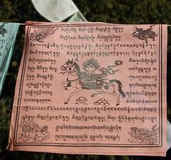 Prayer Flag Closeup (treasuresthouhast) Tags: china tibetan  sichuan prayerflag    erdaohai