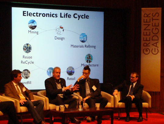 Materials & Lifecycle Panel: David Conrad, Andrew Dent, Grant Kristofek, Douglas Smith