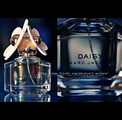 Perfume, spray it there .. (Jadore Allure) Tags: flower perfume marc daisy jacobs scent allure aplusphoto jadure