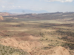 A panorama of the south desert in Capitol Reef, part 2 (jtonole) Tags: panorama utah capitolreef southdesert