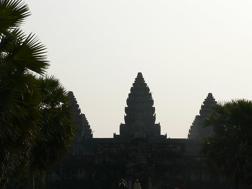 Angkor Wat early morning light