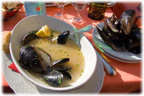 sauted mussels