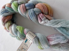 Creatively Dyed yarn roving
