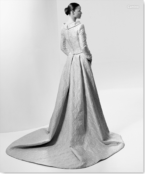 Vestidos de novia Pronovias - Vintage - Camino002