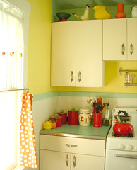 Our new countertops (LemonCadet) Tags: kitchen martha retro 1950 boomerang
