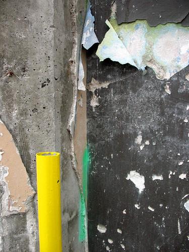 yellow pole