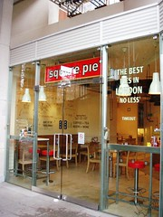 Square Pie, Bloomsbury, WC1 (Ewan-M) Tags: england london bloomsbury squarepie brunswickcentre wc1 londonboroughofcamden thebrunswickcentre closedcafe wc1n formercafe formerpieshop closedpieshop
