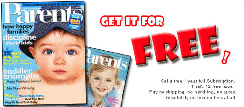 FREE sub for Parent Magazine