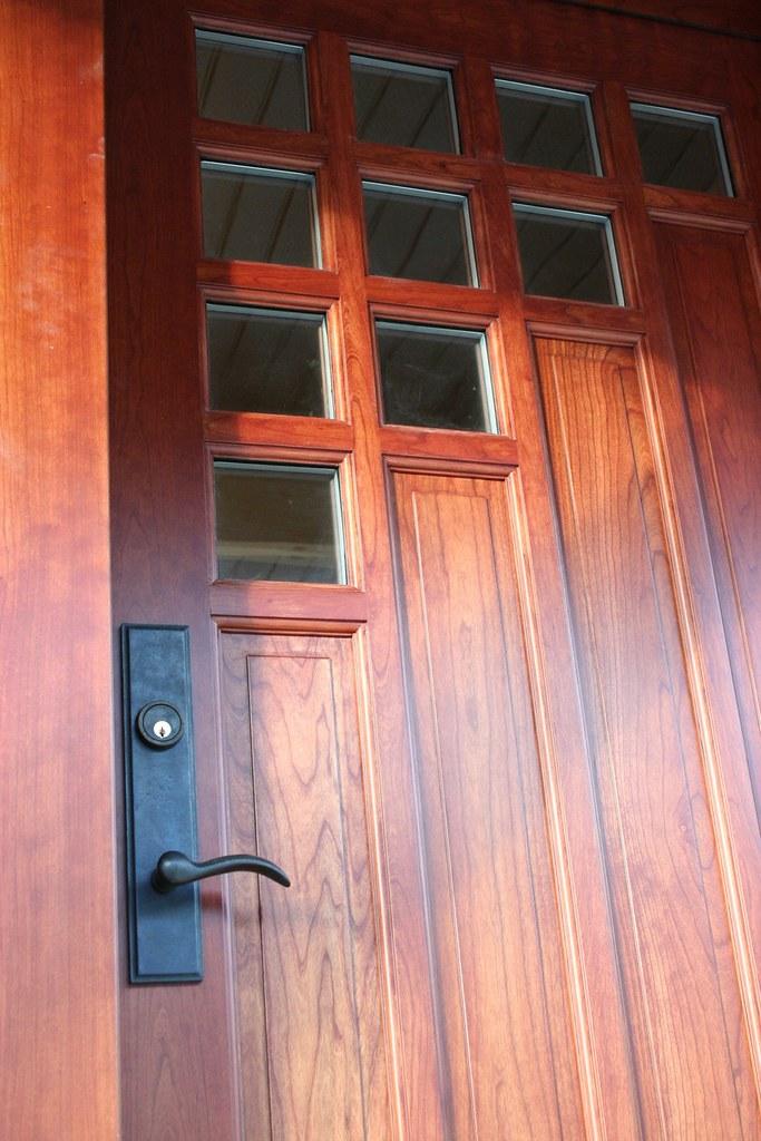 Lance Seaman Front Door detail