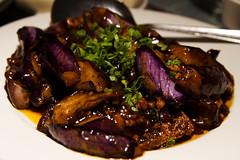 garlic eggplant