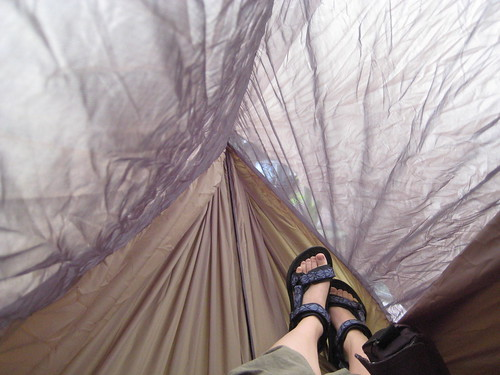 hammock foot-end