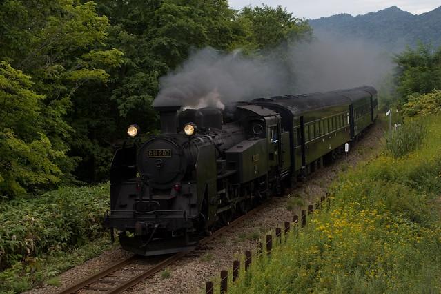 "Steam Locomotive C11-207 ""Yubari"" / C11型207号機SL夕張応援号"