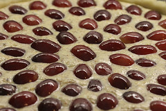Hazelnut and Grape Tart