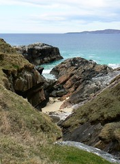Rocky bay on South Harris