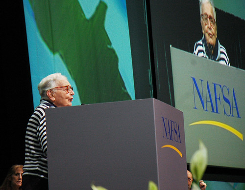 NAFSA Founder Mary Thompson at 2008 Conference