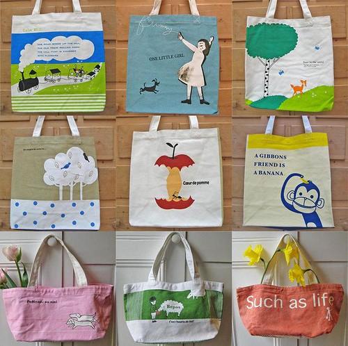 Shinzi Katoh Totes Bags
