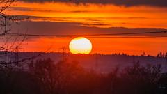 Sunset Little sandhurst 17 February 2017 (1) (BaggieWeave) Tags: berkshire sandhurst littlesandhurst sunset atmospheric clouds
