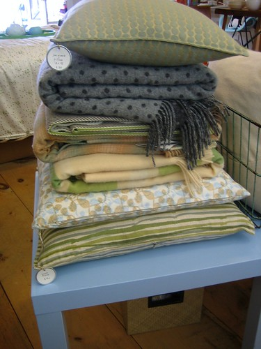 Blankets & Pillows at Smitten