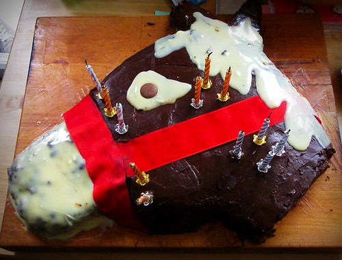 Day 364 - Yay Horse Cake!