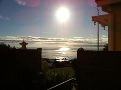 sunrise from the seven gables inn