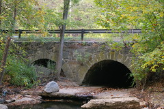 Stone culvert, Ellicott City, Maryland