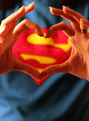 I love... (Sairz*) Tags: blue red yellow hands superman gucci ka3ko0o3ah uaeclick