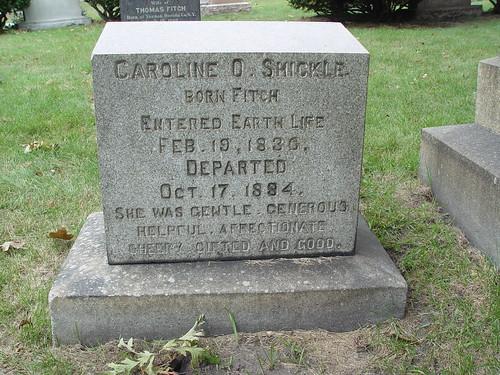 Caroline O. Shickle