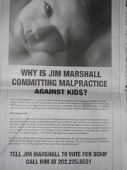 Anti-Jim Marshall SCHIP Ad