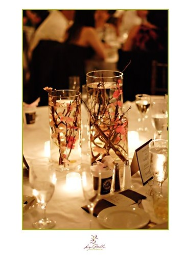 khloe kardashian wedding pictures centerpieces