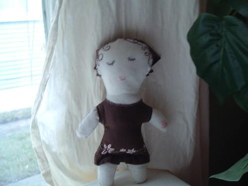 organic folk doll