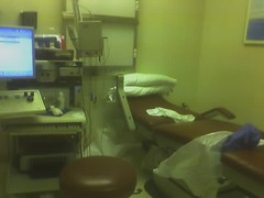 hideous emg room at the hospital