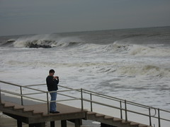 Remnants of Hurricane Noel Passing by Long Branch, NJ, 11-3-07 by momcat14c