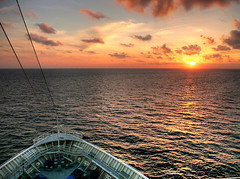 sunrise off the bow (joiseyshowaa) Tags: world ocean morning travel cruise sunset sea summer vacation sky sun holiday seascape water clouds sunrise landscape dawn evening twilight surf waves ship florida top20sunrisesunset dusk atlantic edge bow land caribbean rise inspirational scape stern atlanticocean cruiser finest natures naturesfinest oceanscape anawesomeshot anawsomeshot aplusphoto top20sunrisesunset20 diamondclassphotographer flickrdiamond thechallengefactory joiseyshowaa joiseyshowa
