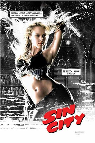 Sin City - Nancy (Jessica Alba) - Movie Poster