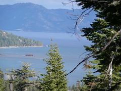 View of Lake Tahoe from Tahoe Rim Trail