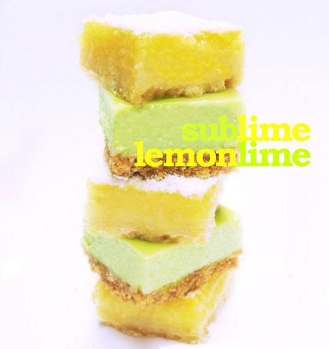 Lemon Squares and Key Lime Bars (with title)
