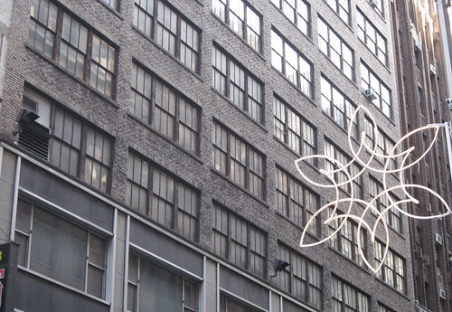 Christmas Decorations in Garment District