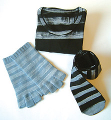 Stripes (violetta testacalda) Tags: socks stripes tshirt gloves violettatestacalda saracimarosti