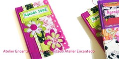 [ agenda empresarial 21 ] ( Atelier Encantado ) Tags: vintage calendar handmade oldphotos fabrics tecidos fitas fotosantigas diarys gales agendas atelierencantado