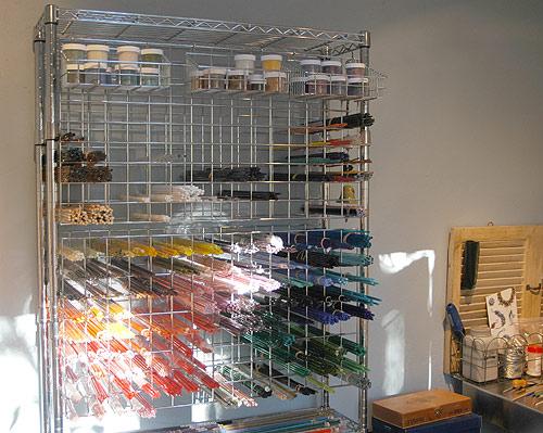 The Blue Between Lampwork Glass Beads Studio In Edmonds