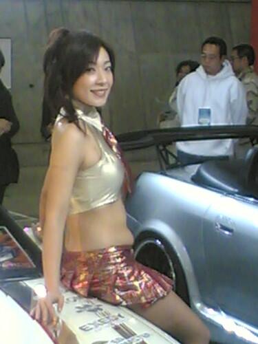 tokyo autosalon gal