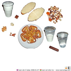 iwanwilaga ate it today 20080107 (iwanwilaga) Tags: red water milk potatoes corn chocolate almond plum dry twist crescent dotted potato butter hazel mineral peanut apricot rudi dried cob boiled maize mandula raisin hazelnut sweetcorn nit tej croquette sundried currant barack mineralwater groundnut tonsil mizo sultana monkeynut kukorica turorudi potatoball diddlysquat crescentroll krokett trrudi burgonya krumpli pttys svnyvz curdcheese pirospttys earthnut mazsola ftt dikcsemege kesudi aszalt srgabarack