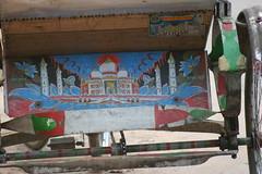 Rickshaw art (Anduze traveller) Tags: dhaka rickshaws bangladesh rickshawart gulshan cyclerickshaws