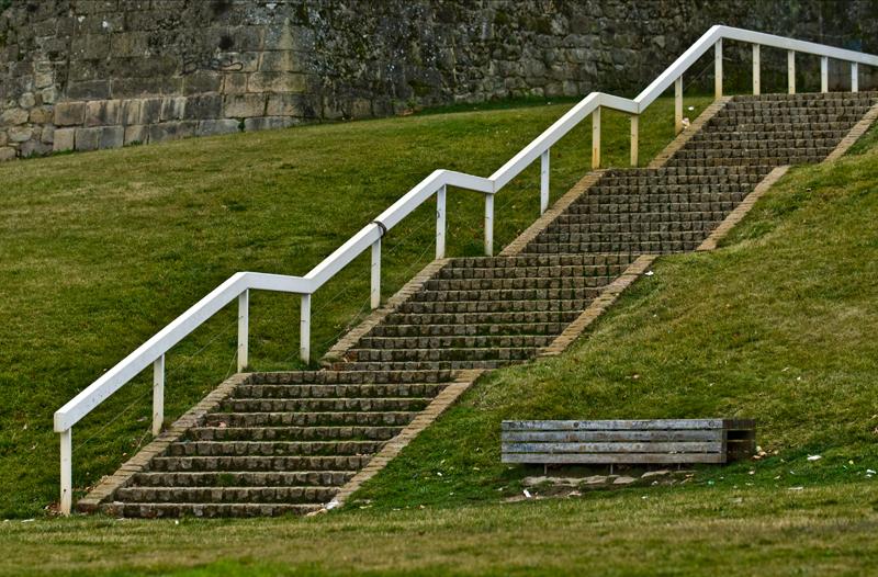 A escada